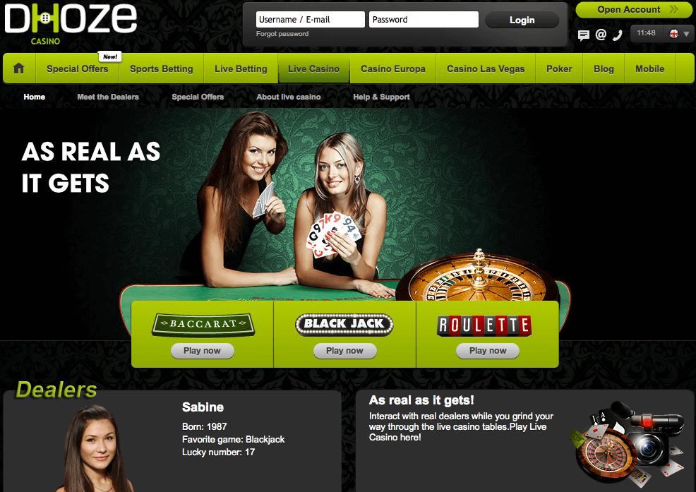 Dhoze Online Casino