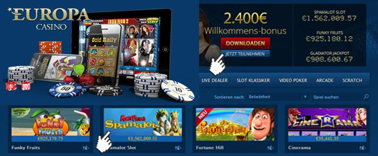 das beste online casino europe entertainment ltd