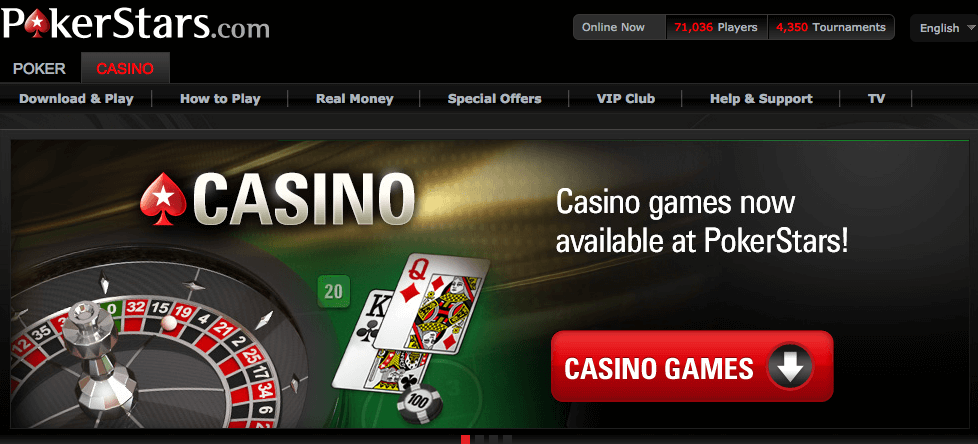 pokerstars casinospiele