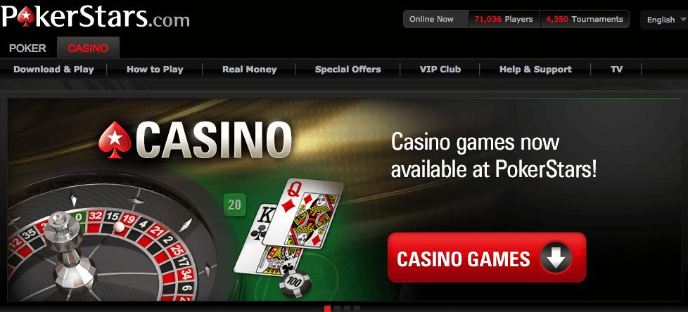 pokerstars casinospiele