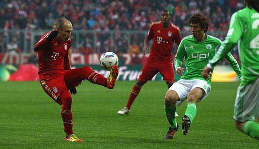 Bayern gegen wolfsburg