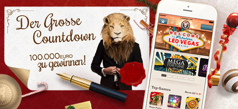 LeoVegas Weihnachts Promotion