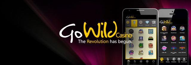 go wild casino promo