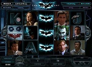 Dark Knight Rises slot spiel