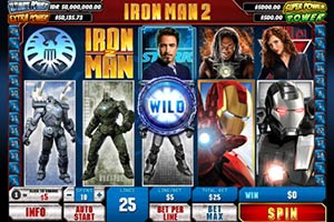 iron man spiel