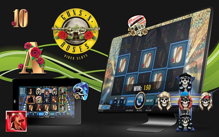 guns n roses slot machine