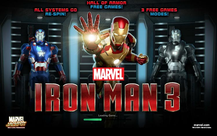 iron man 3 slot
