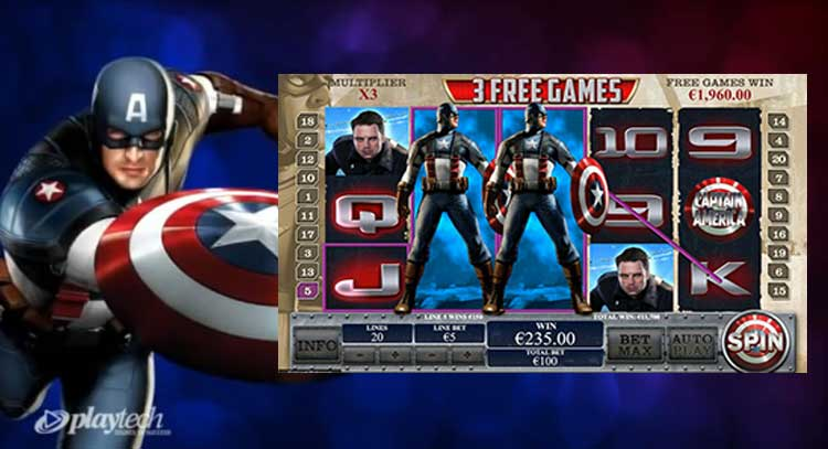 Captain AmericaSlot