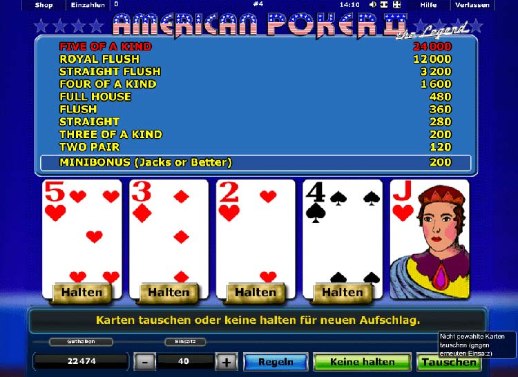 Kleine StraГџe Poker