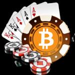 Um Bitcoins spielen